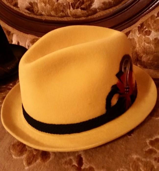 Vintage Resistol Derby Hat