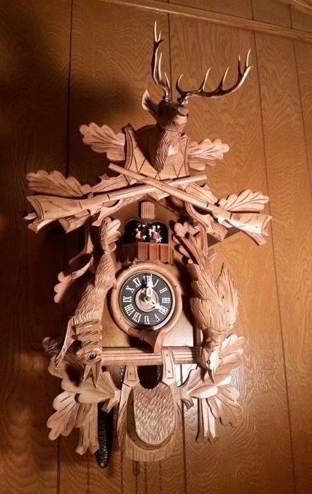 Beautiful Black Forest Cuckoo Clocks