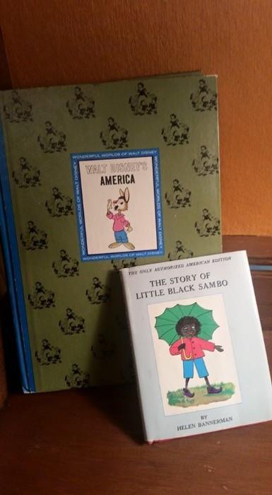 Rare books, including The Story of Little Black Sambo