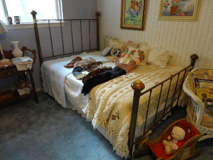 Victorian Brass Bed