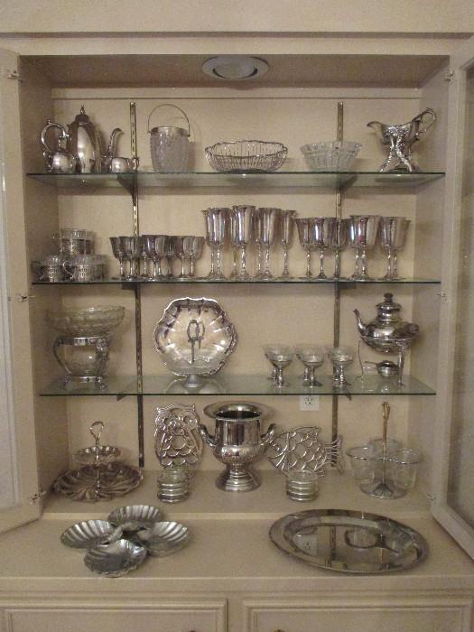 Lovely Sterling and Silverplate