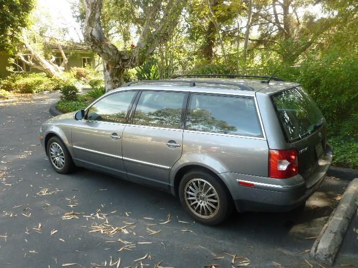 2004 Volkswagen Passat wagon with only 13,800 miles.  Always garaged.