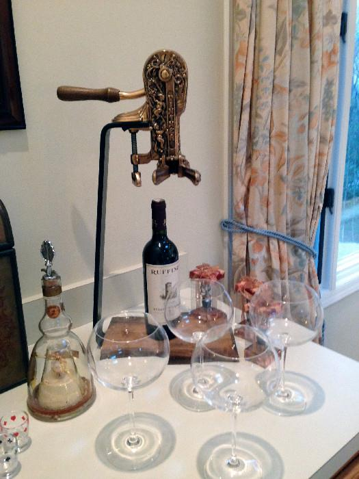 Connoisseur Wine Opener and Accessories