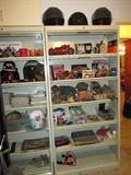 Motorcycle and Harley Davidson Items.  We have a Harley Leather Jacket and Men's Boot's too.