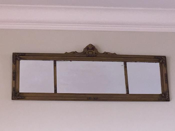 Antique Rectangular Mirror