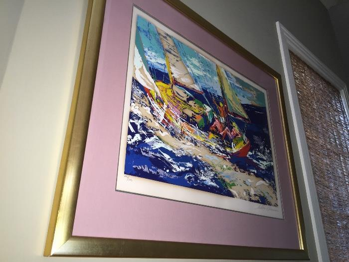 Leroy Neiman Signed & Numbered Litho