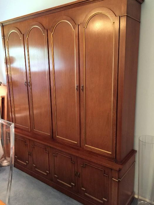 CHINA HUTCH by Mount Airy chair Company from North Carolina.