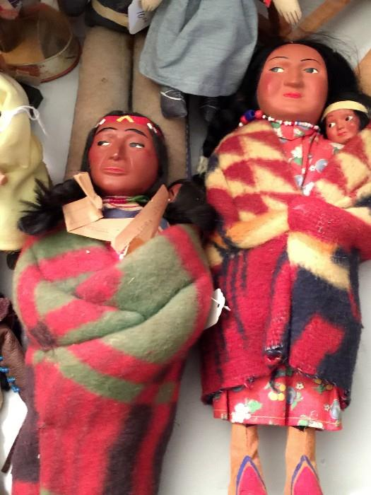 Native American Dolls.