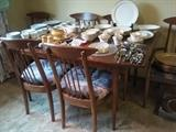 Mid-Century Modern table and chairs