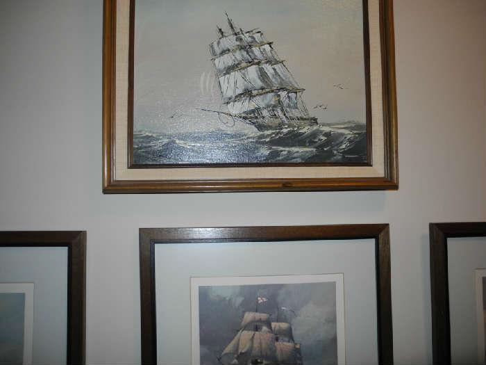 Nautical/ship art