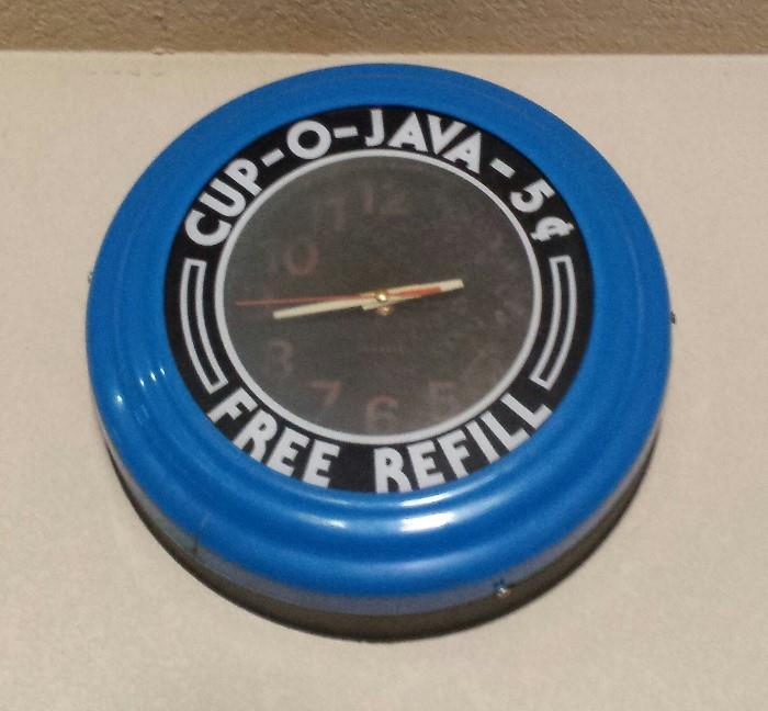 cup o java clock