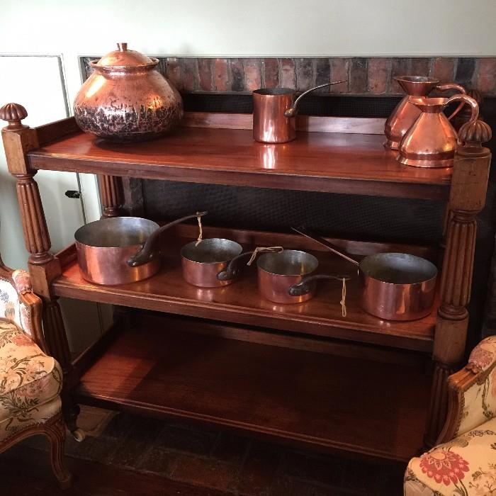William IV Buffet On Casters - c.1830-1840