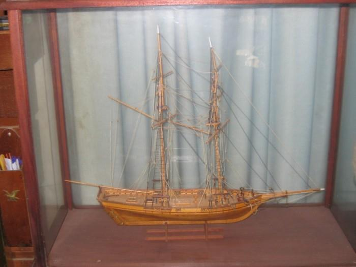 BALTIMORE CLIPPER MODEL NAMED DAPPER TOM.  RENAMED THE HARVEY AFTER LAUNCH IN 1790