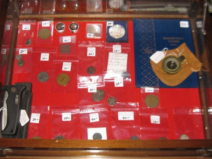 OLD COINS & MEDALS
