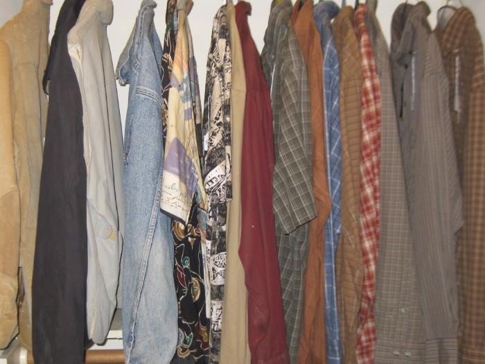 LARGE & XL MEN'S CLOTHES