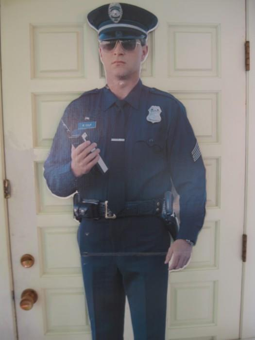 OFFICER CULP WILL BE ON DUTY AS USUAL