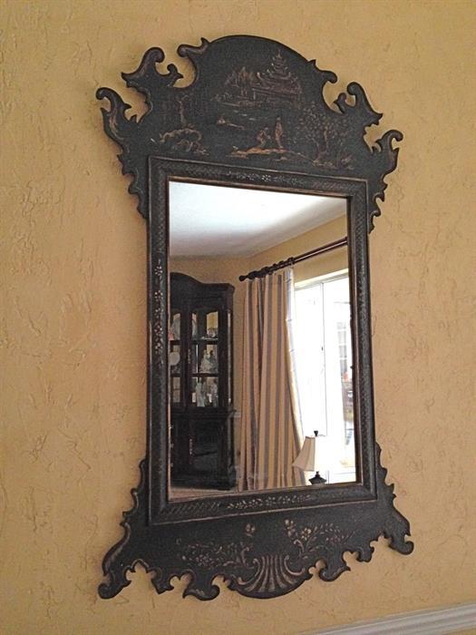Chinoiserie Mirror Circa 1880-1890