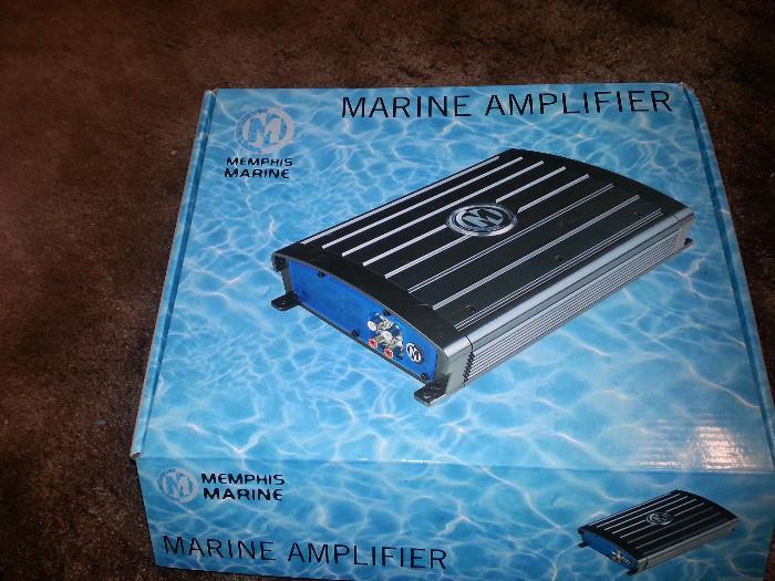 Memphis marine amplifier