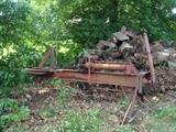 PTO driven log spliter