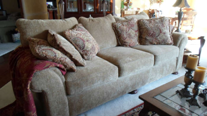 sofa & matching loveseat