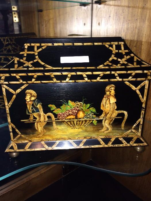 One of the many decorative boxes
