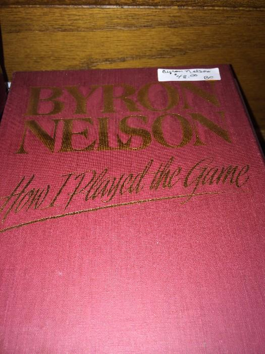 "Autographed by Byron Nelson ""How I Played the Game"""