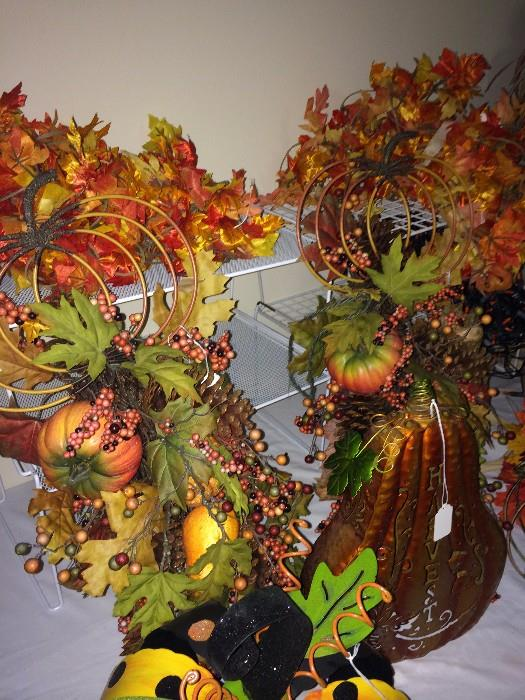 Great fall and Thanksgiving decorations