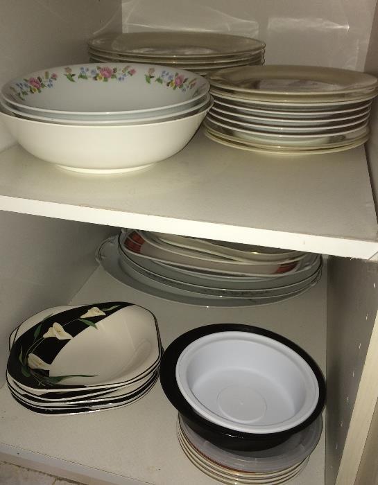 China, dishes