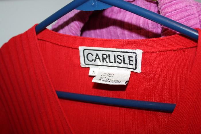 CARLISLE LADY'S CLOTHES
