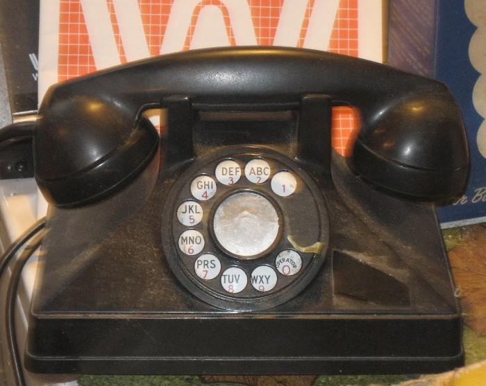 Vintage Rotary Phone That Works!