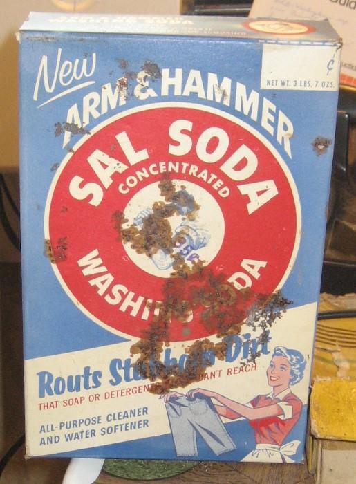 Full Box of Arm & Hammer Washing Soda