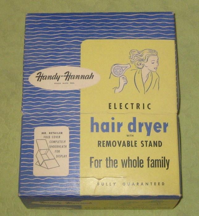 Vintage Handy Hannah Electric Hair Dryer