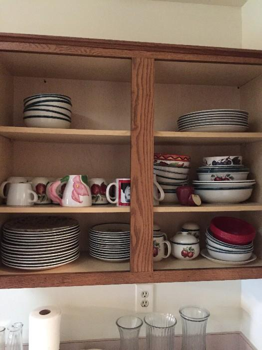 DISHES AND KITCHENWARE
