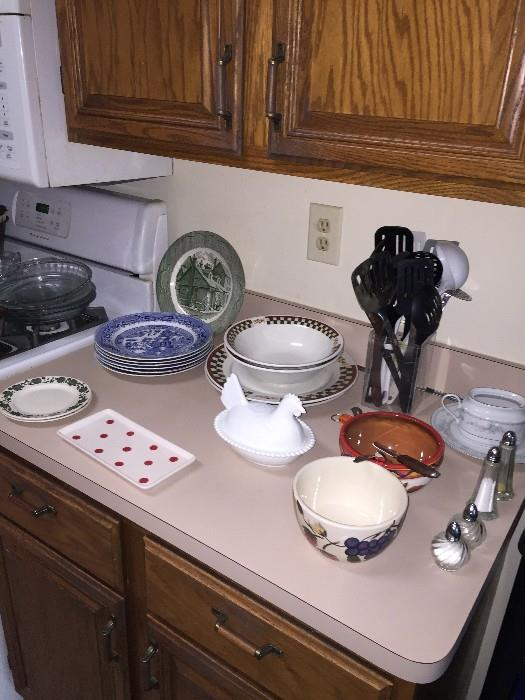 DISHES AND BOWLS