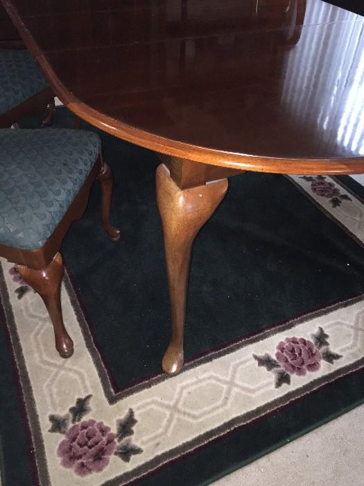 AMERICAN DREW CHERRY GROVE DINING ROOM TABLE WITH CHAIRS