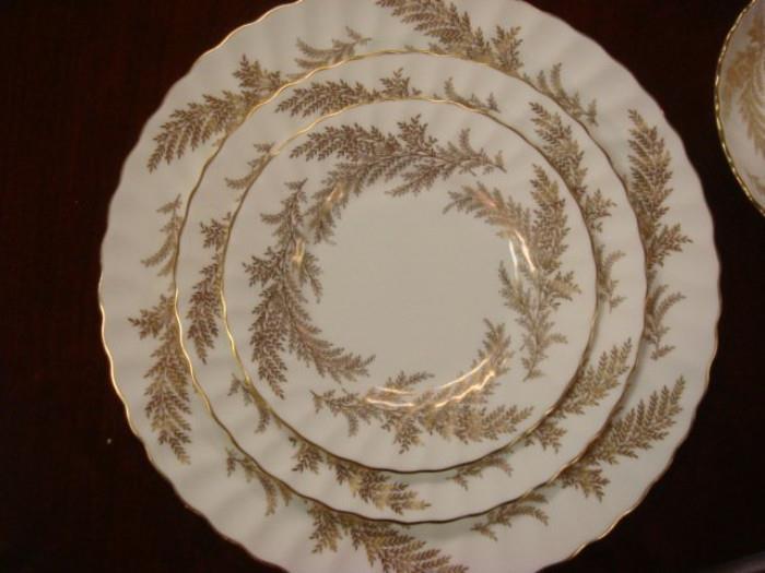 Minton Golden Fern
