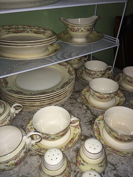 Lovely Crown Potteries dishware