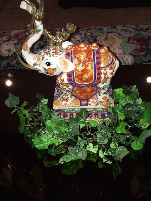 Asian style elephant