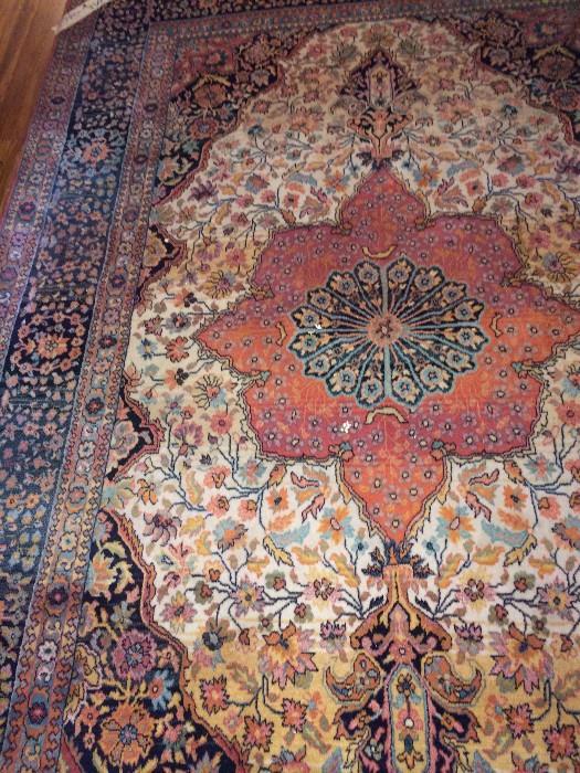 5 feet x 8 feet wool rug