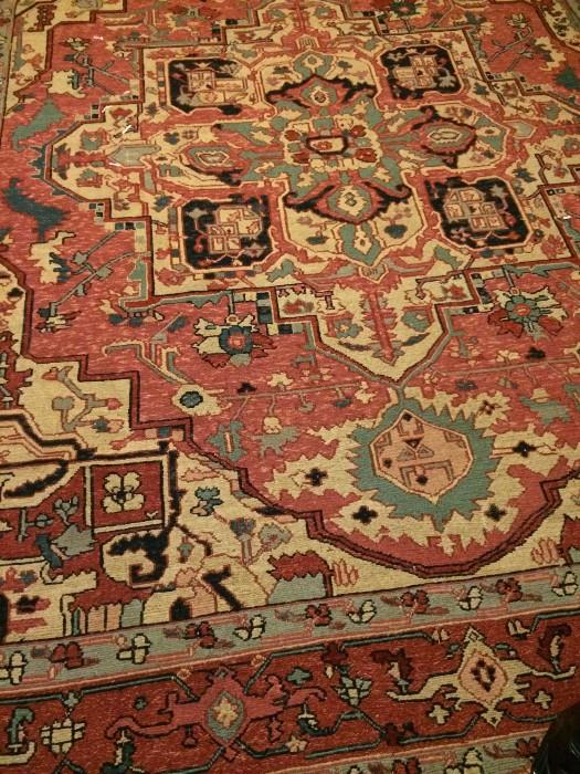 Handmade 8 feet x 10 feet Kelim rug