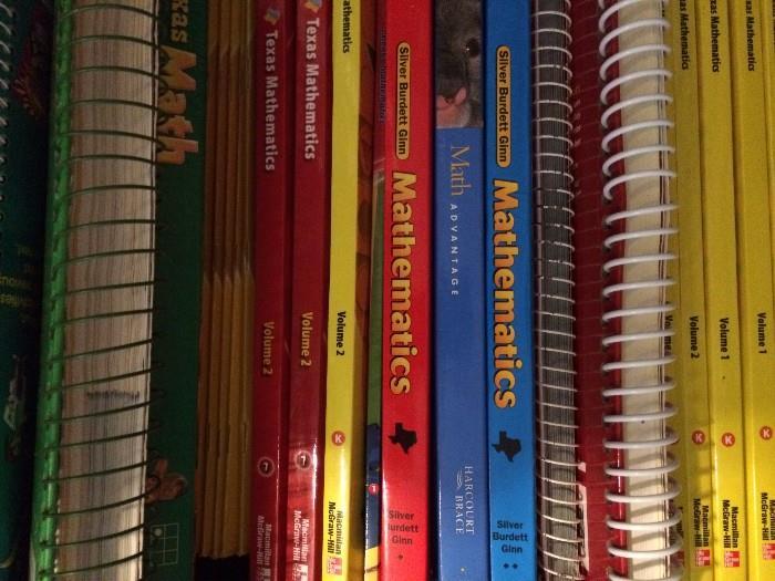 Educational books of instruction