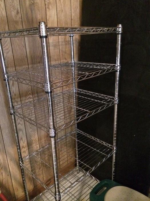 Five shelf rack