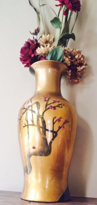 Bombay Decorative Vases with Floral Arrangement (2)