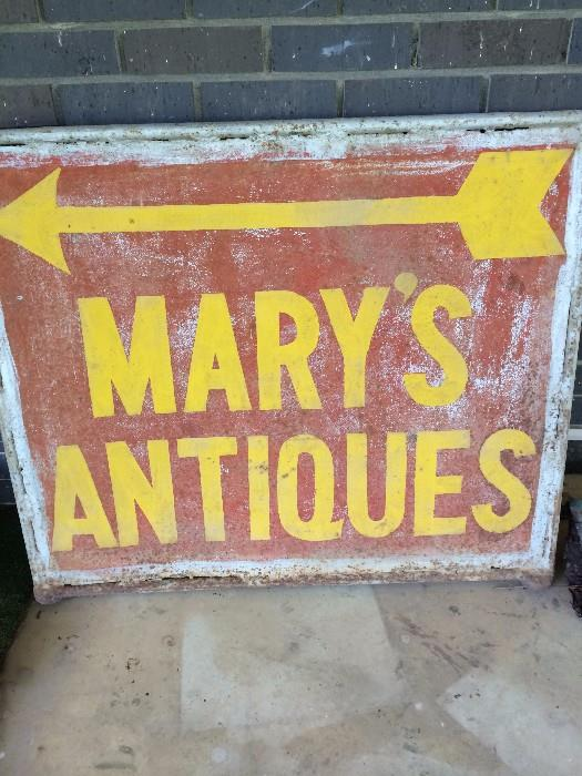 Mary has now retired from her Mary's Antiques Shop. The treasures await your arrival!!!!