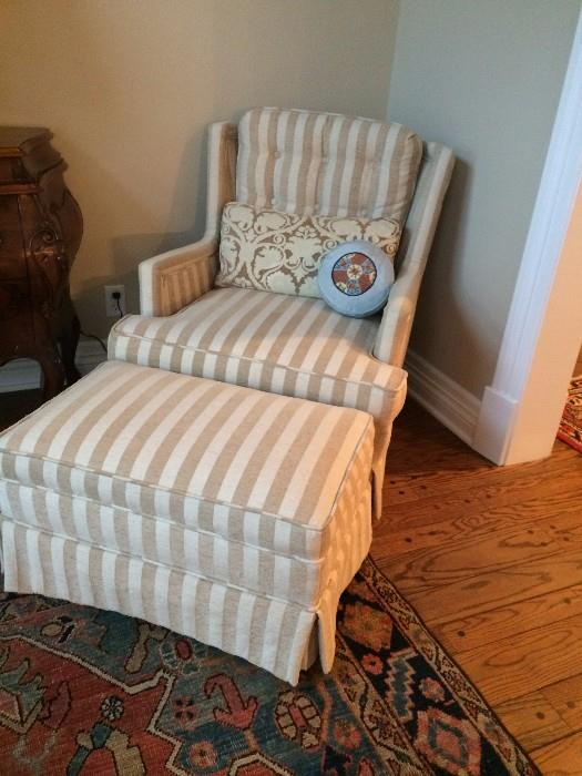 One of several club chairs for guaranteed comfort