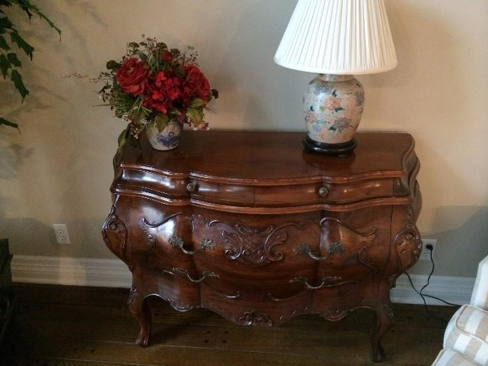 Another 2-drawer Bombay chest