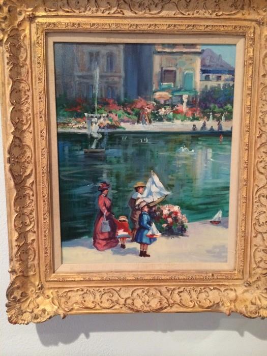 Another lovely framed art selection