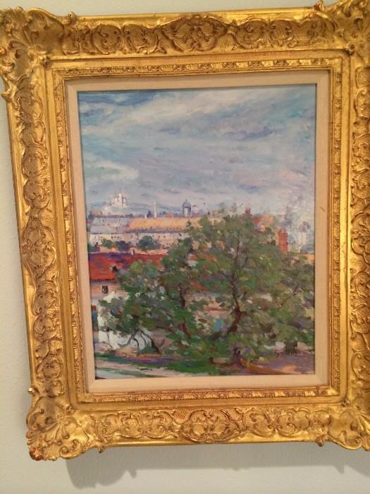 More of the lovely framed art selections