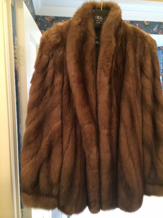 Szor-Diener mink jacket