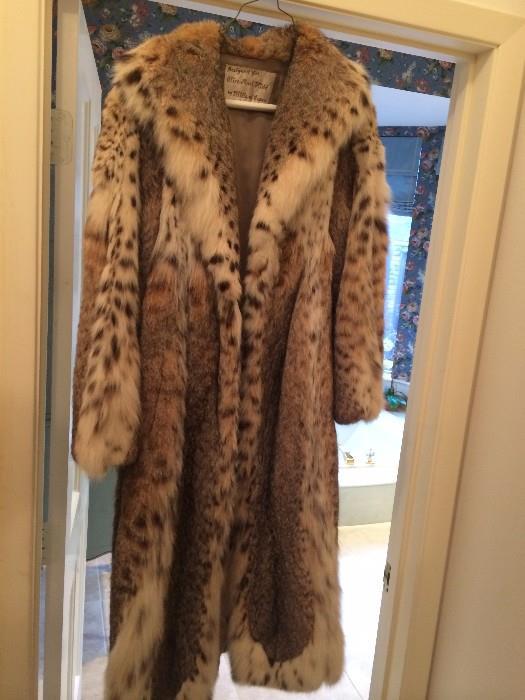 Fur coat - designed by Hillis of Aspen